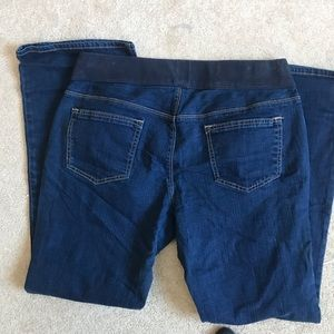 Old navy low rise bootcut maternity jeans